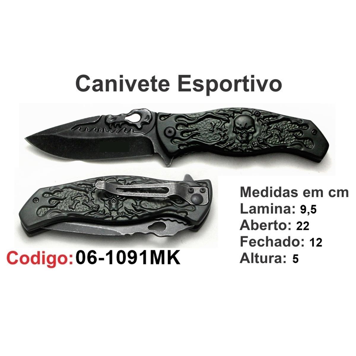 Canivete Esportivo Caça Pesca Etc. 06-1091MK