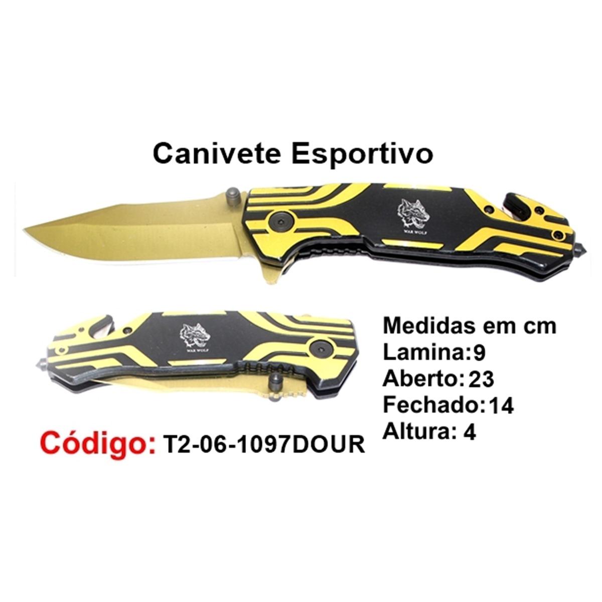 Canivete Esportivo Caça Pesca Etc. 06-1097DOUR