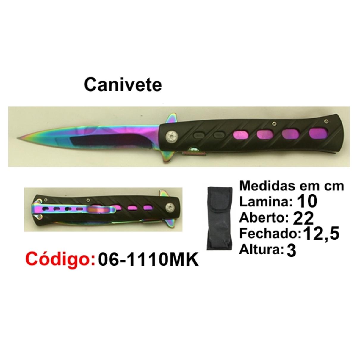 Canivete Esportivo Caça Pesca Etc. 06-1110MK