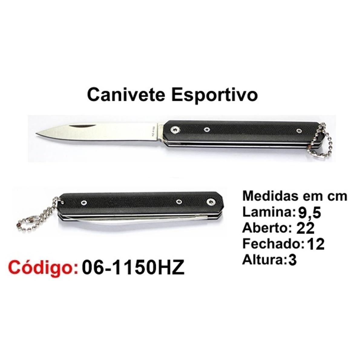 Canivete Esportivo Caça Pesca Etc. 06-1150HZ