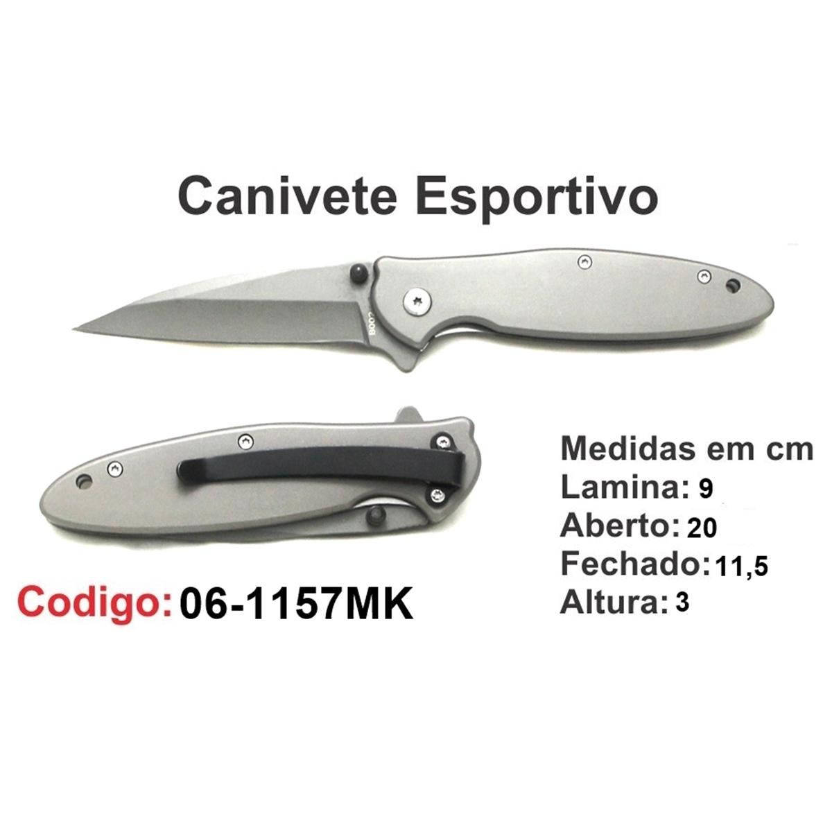 Canivete Esportivo Caça Pesca Etc. 06-1157MK
