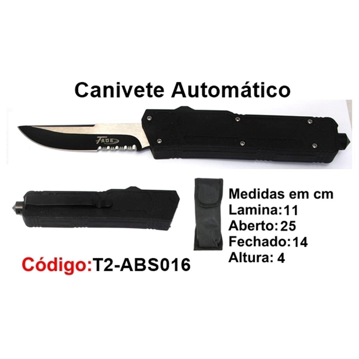 Canivete Esportivo Caça Pesca Etc. T2-ABS016