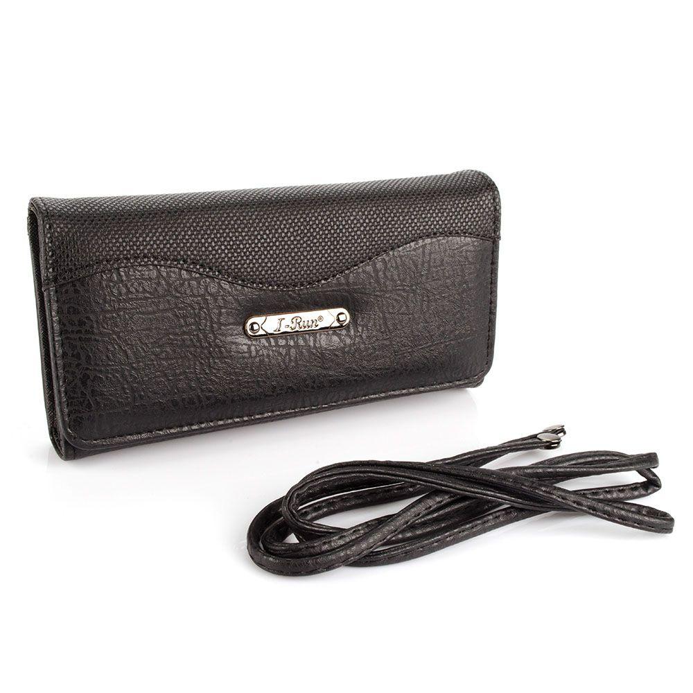 Carteira Feminina com opção de usar como mini Bolsa IRUN-W5720