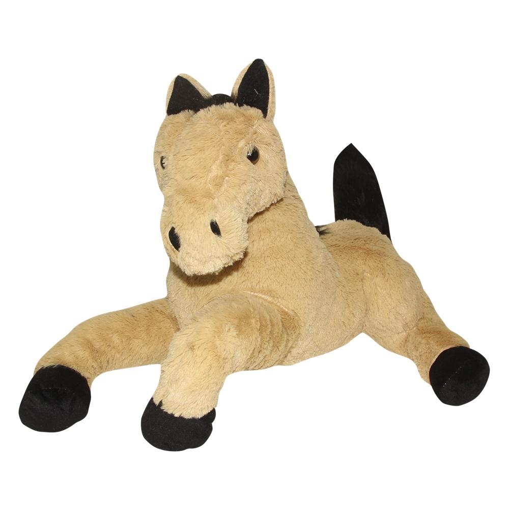 Cavalo De Pelúcia Deitado cores 65cm  Fizzy F1468