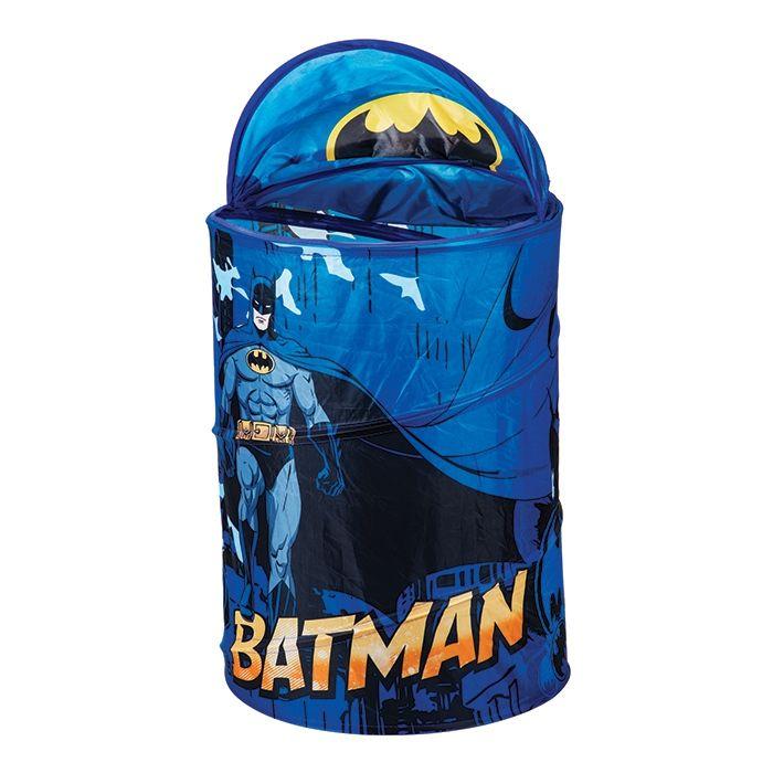 Cesto Organizadora Do Batman Infantil para brinquedos