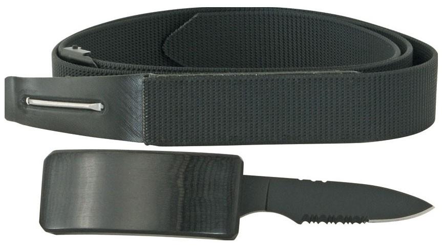 Cinto Tatico Faca Canivete Com Oculta Na Fivela Belt Knife DS4830