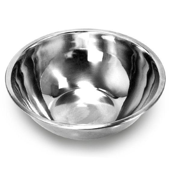 Conjunto 8 Saladeiras Bacia tigela em aço Inox 20, 22, 24 e 28 cm 2 de cada tamanho Ke Home