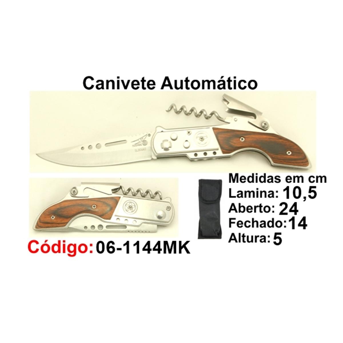 Canivete Esportivo Automático Caça Pesca Etc. 06-1144MK