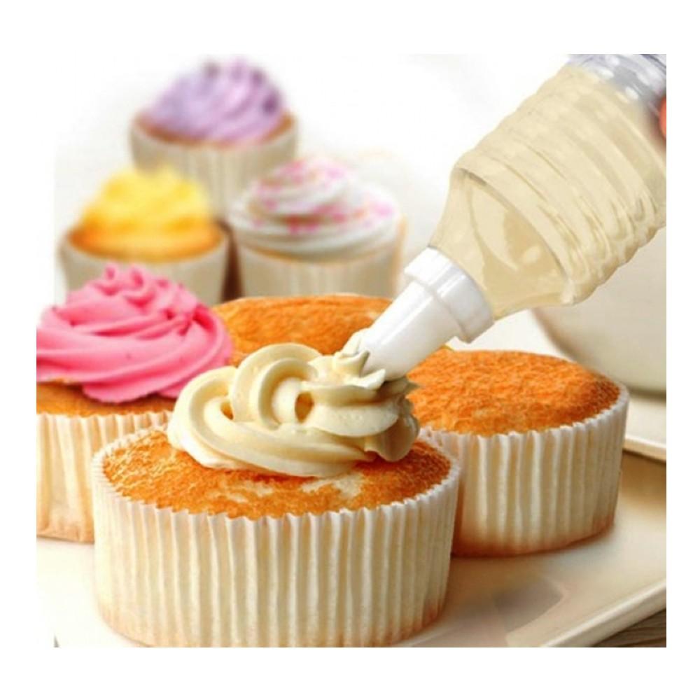 Decorador de bolo com 07 bicos Decor-Útil - 381