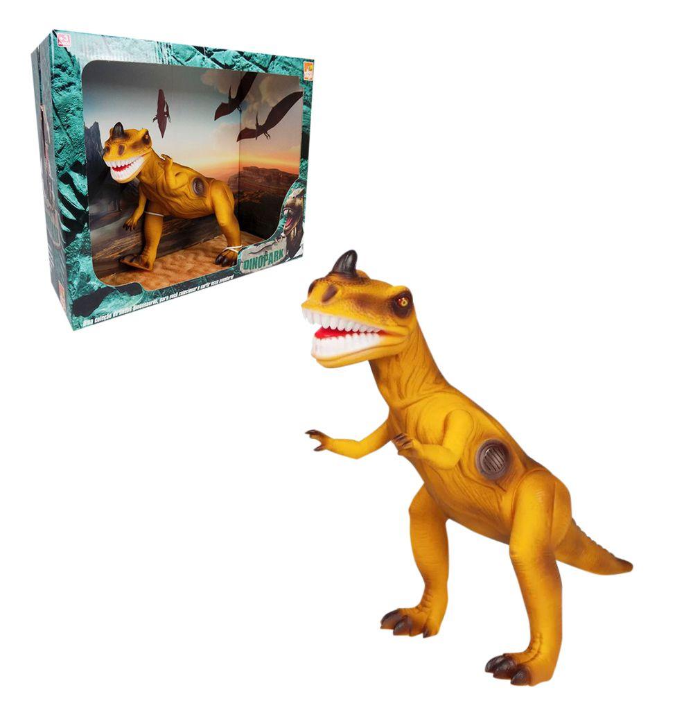 Dinossauro Brinquedo Infantil Com Som Articulado Bee Toys
