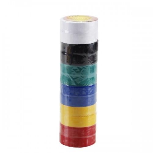 Fita Isolante Colorida Pacote Com 12 Unidades 5mx15mm 4350