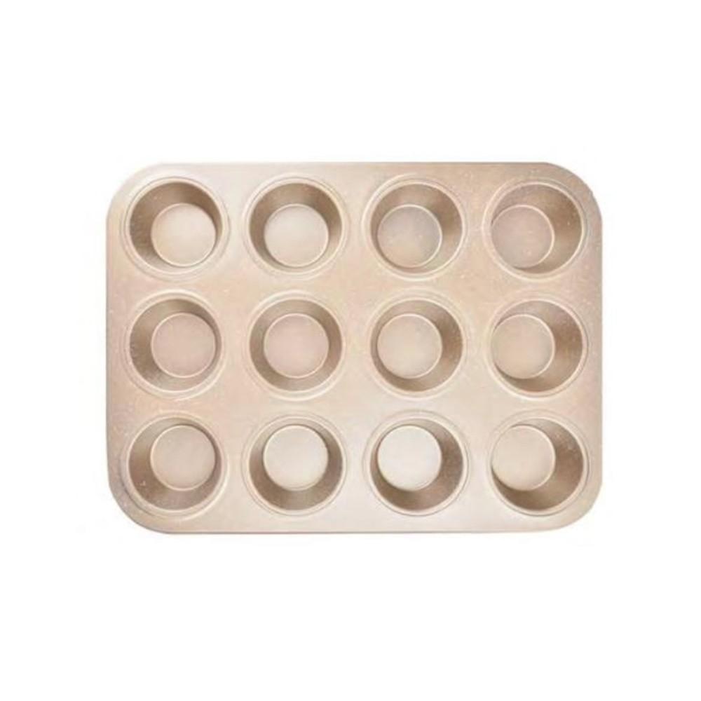 Forma De Cupcake 12 Cavidades Antiaderente Teflon Ingá IN13041-1