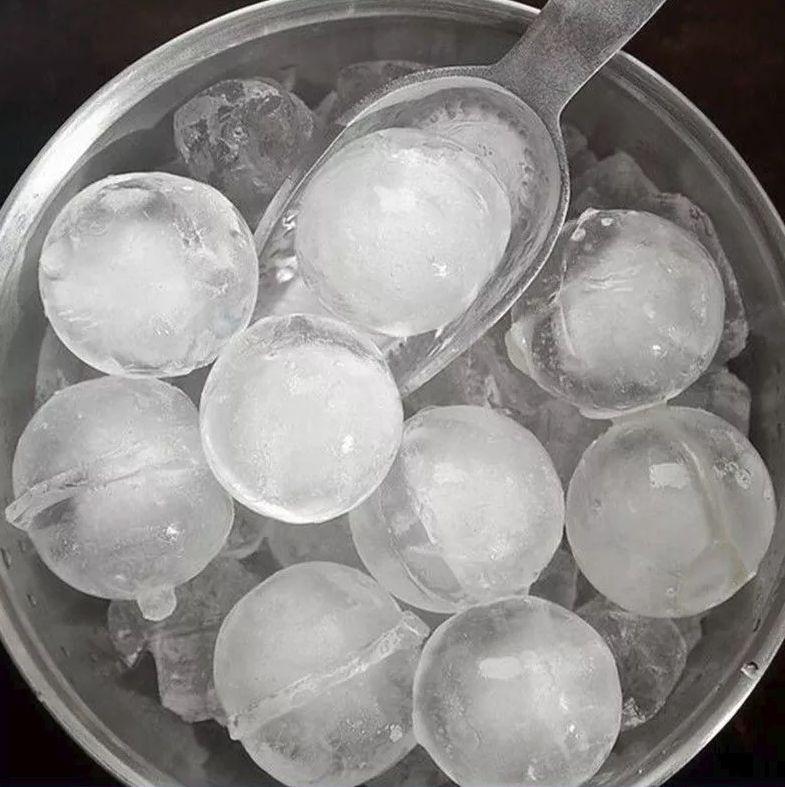 Forma de Gelo 6 Bolas Silicone Ke Home 9000
