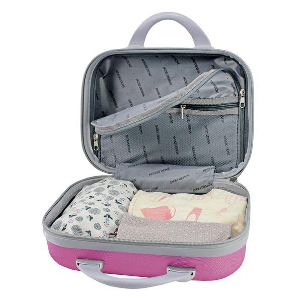 Frasqueira Love Pink ABS Jacki Design AHZ19859