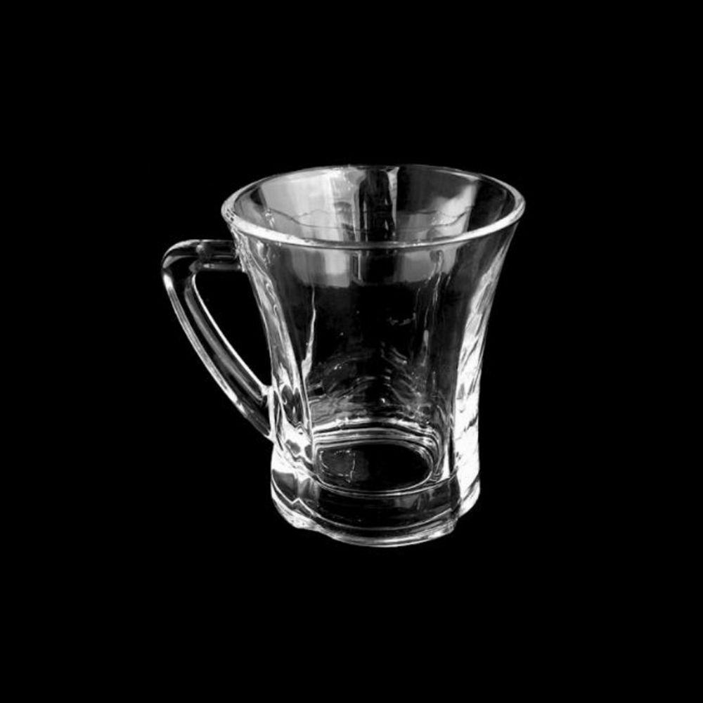 Jogo 12 Canecas de Vidro Café Chá e outros Unik Home UH040013-12