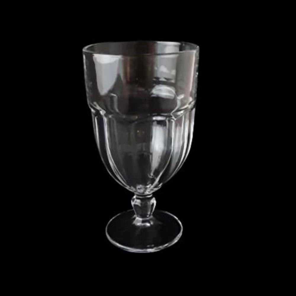 Jogo 6 Taça 440 Ml Tipo Bristol Vidro Copo Água Suco Sorvete UH090058-BIG-1