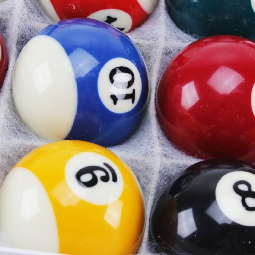 Jogo Bolas De Bilhar Snooker Sinuca 52mm 16 Peças 0831