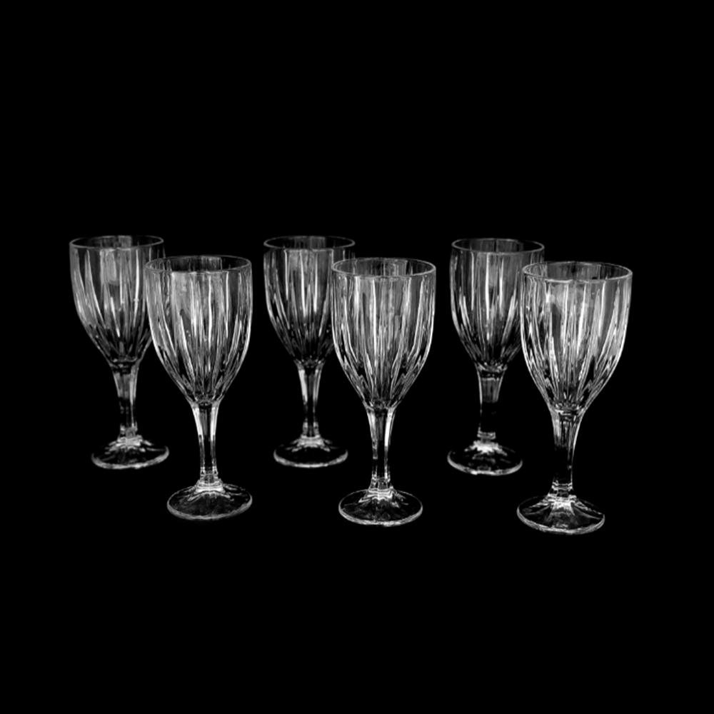 Jogo De 6 Taças de Cristal Para Vinho e Outros 300ml Ravello UH090045-6