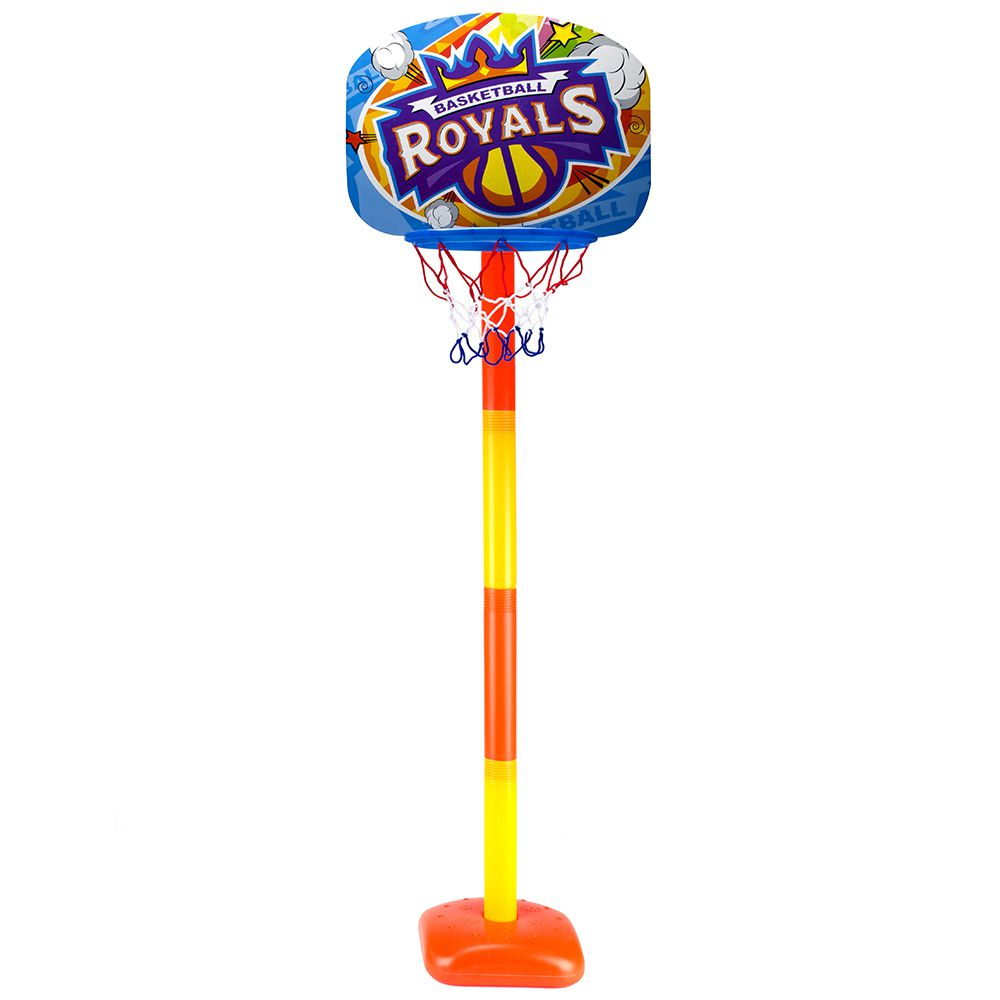 Jogo De Basquete Kit Mini Basket Tabela Pedestal Cesta Bola e inflador WB5787