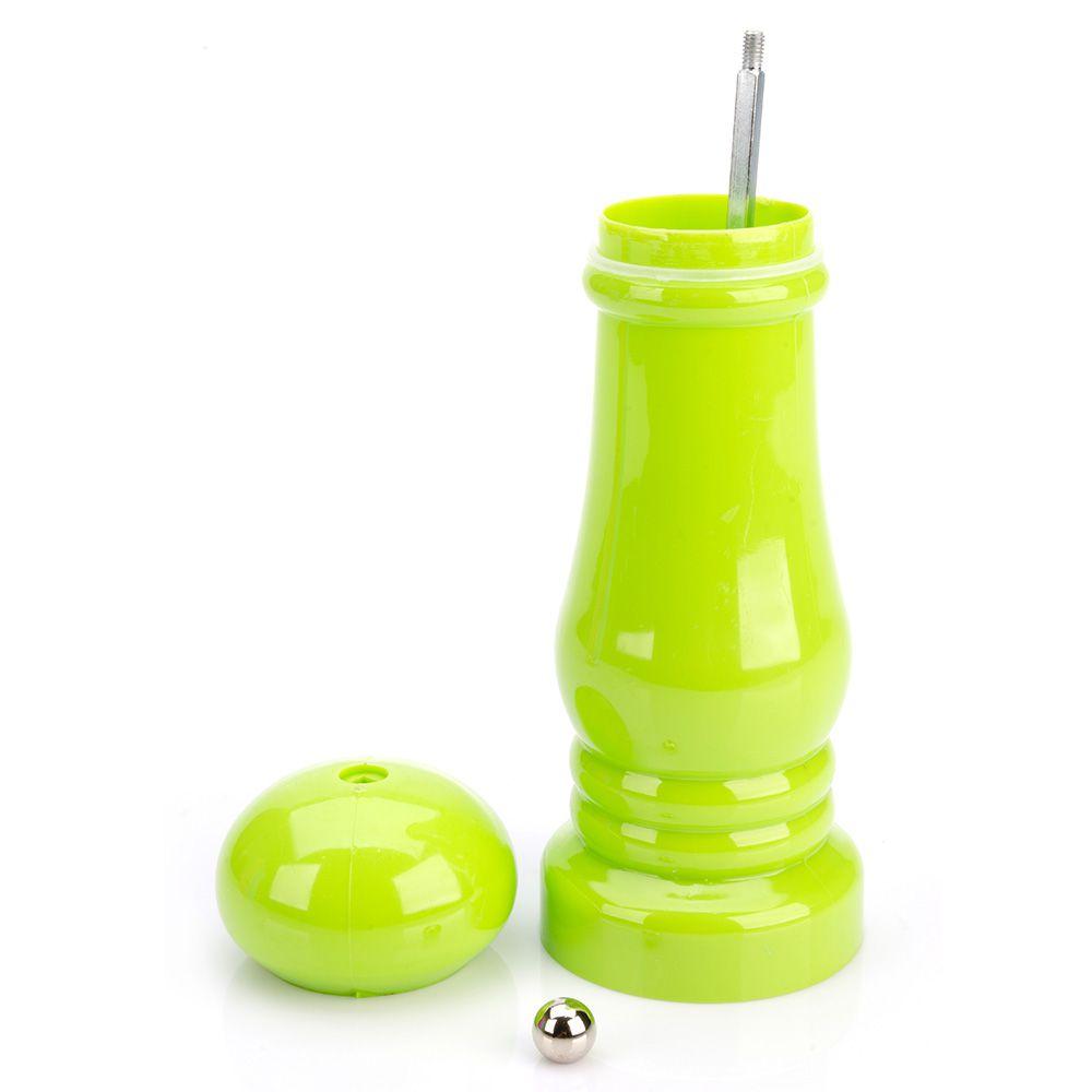 kit 4 Moedores de Pimenta sal Em Plastico com Moinho em Ceramica Ke Home 5585-4