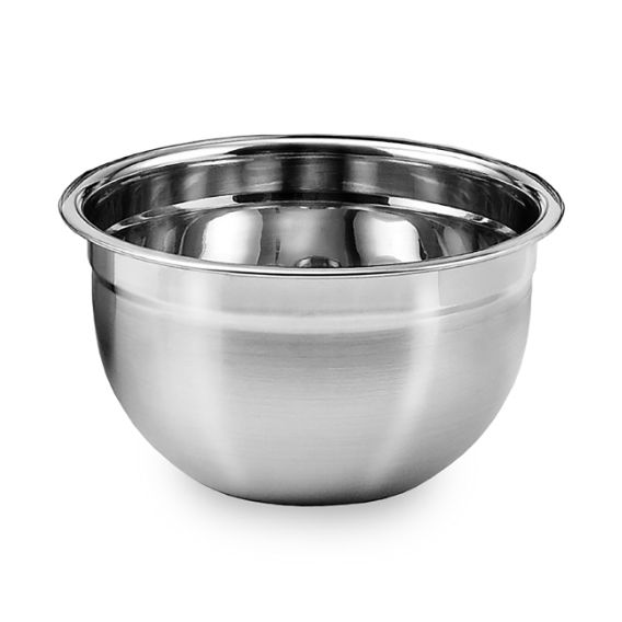 Kit 4 Tigelas Mixing Bowl em aço Inox 28 Cm  Ke Home 3116-28-4