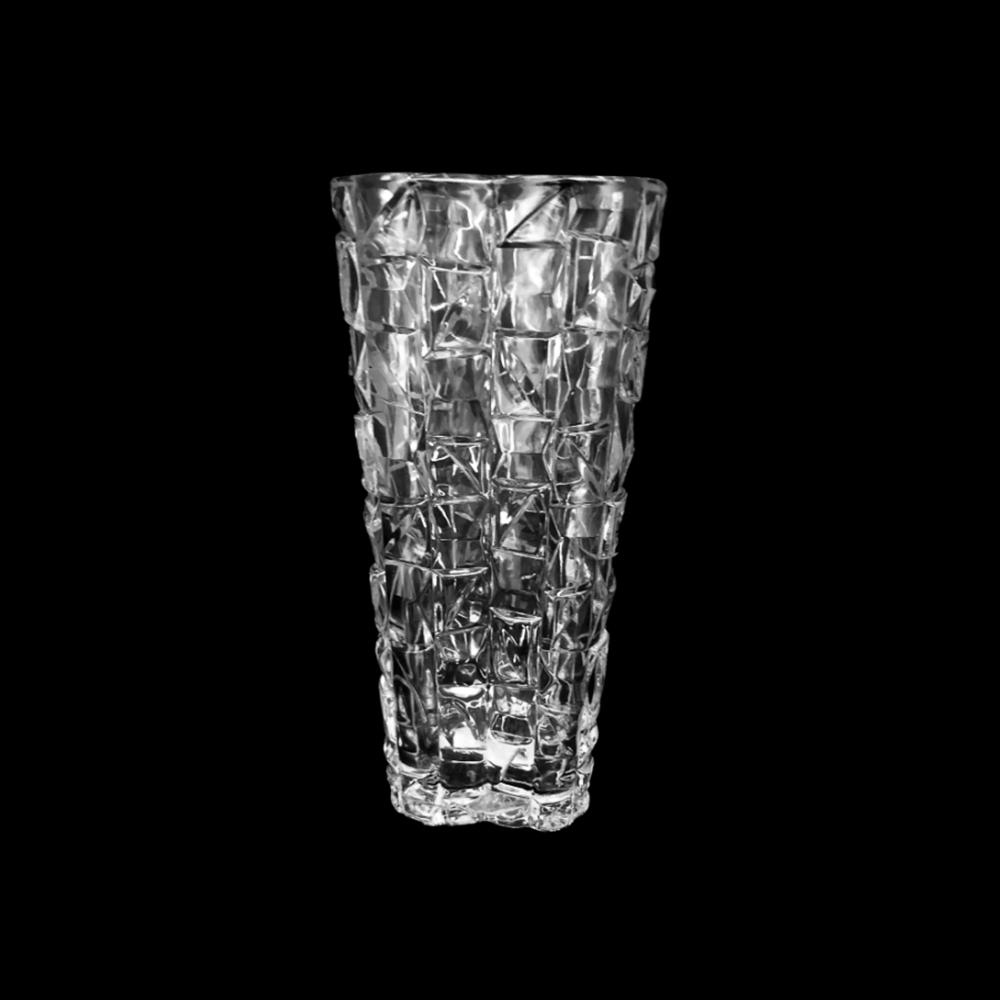 Kit 4 Vasos Decorativo Vidro Jinbau altura 24cm 1250ml UH080068-ZS-4