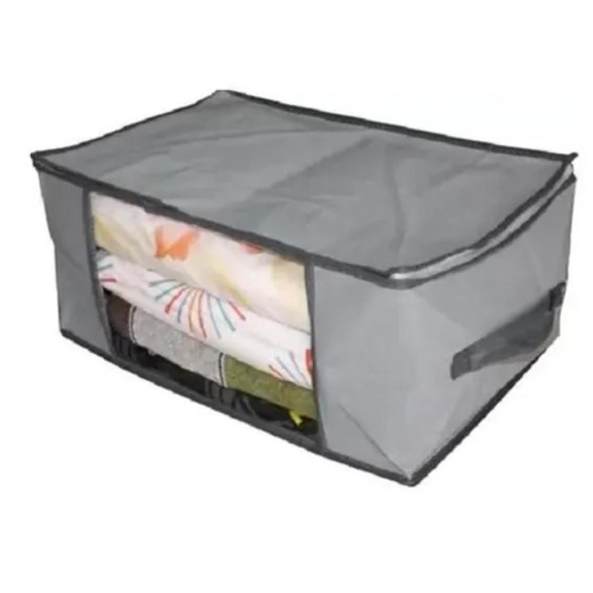 Kit 5 Caixa Organizadora Flexivel de Tecido 60X45 AmiGold - AM-1596-5