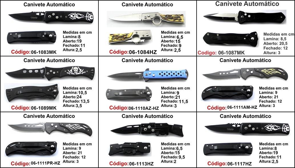 kit 5 canivetes base P