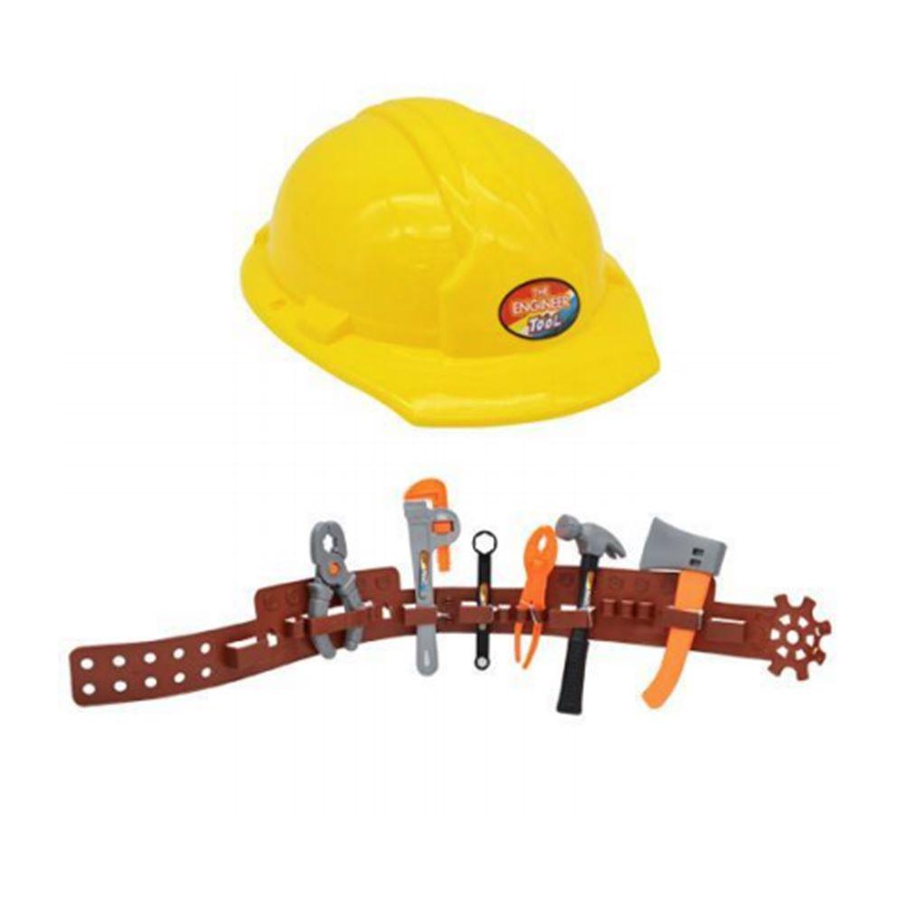 Kit Construtor Ferramenta Capacete E Acessórios 8 Peças TOYS-190797