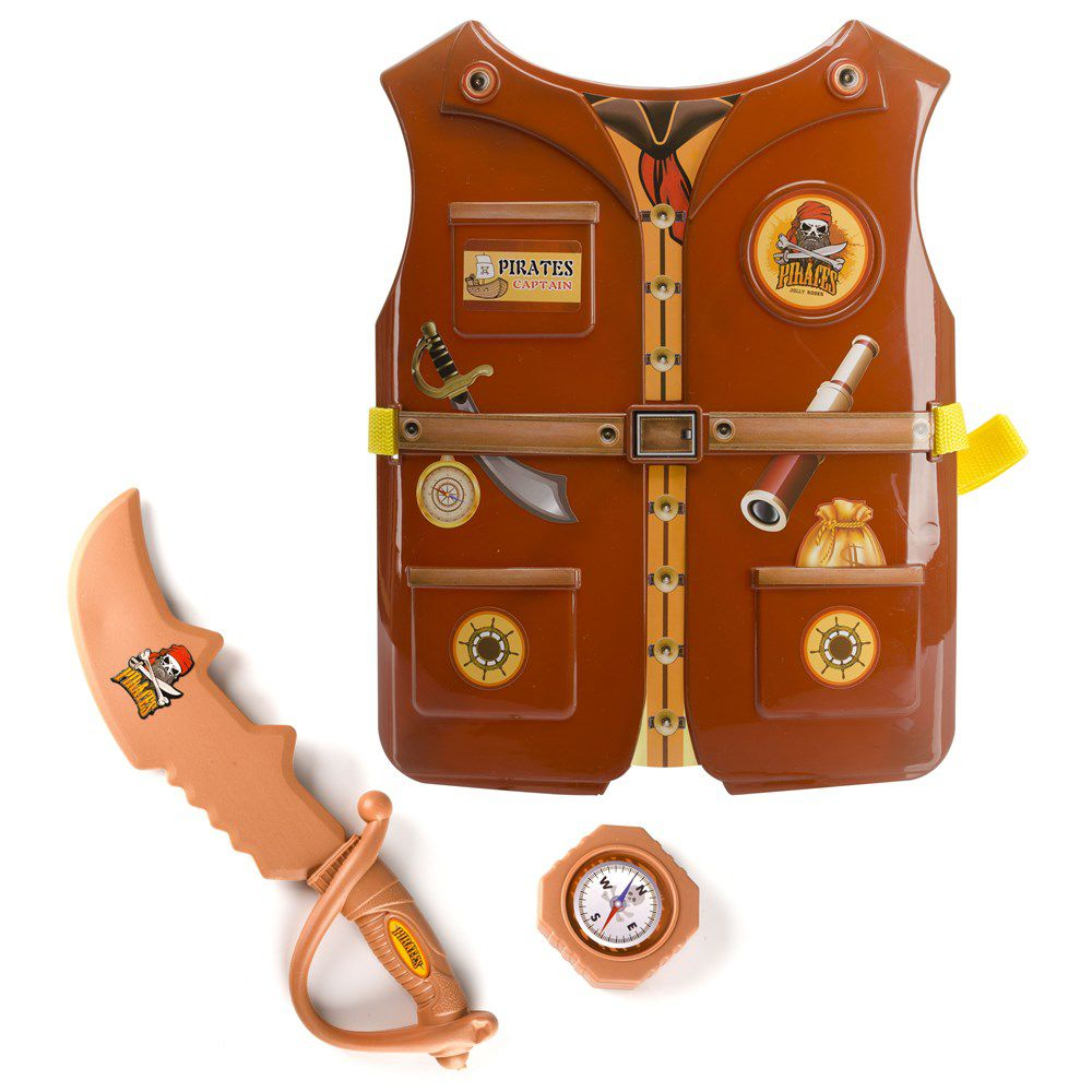 Kit Fantasia Infantil Criança Profissões policial bombeiro medico engenheiro pirata