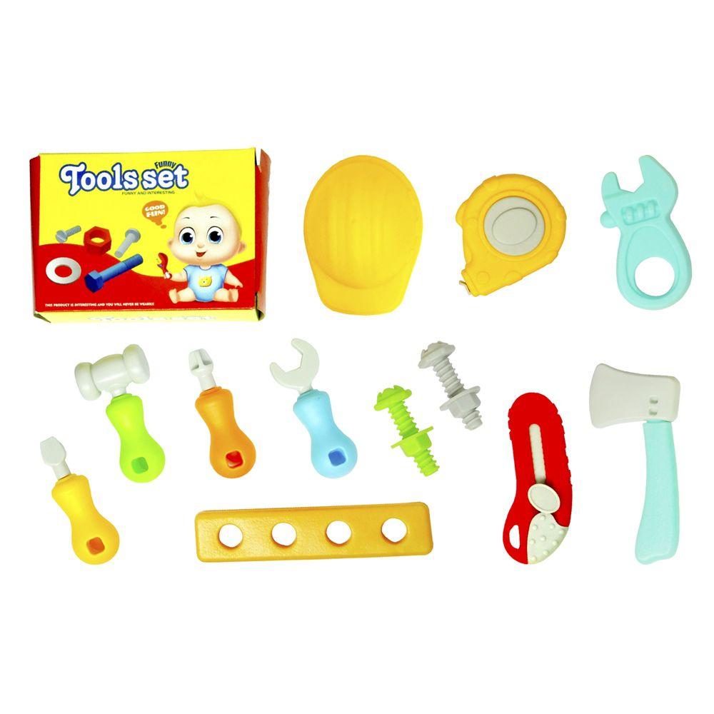 Kit Ferramentas Infantil Mini Maleta com rodinha e Acessórios DM Toys DMT5664