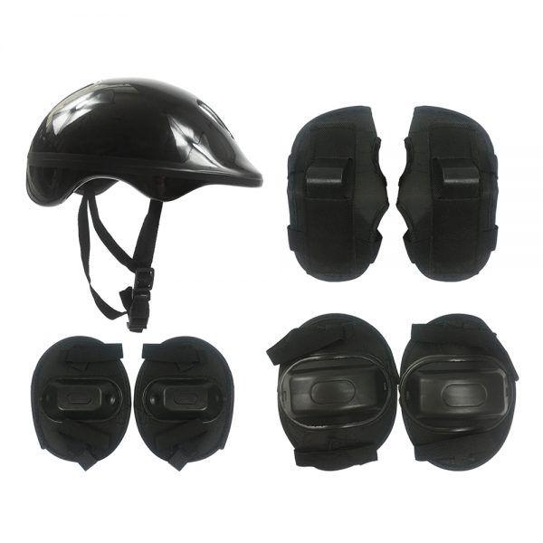 Kit Proteção Radical Plus Infantil Capacete joelheira cotoveleira DM Toys