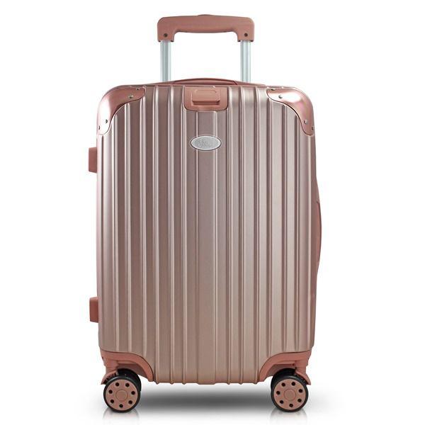 Mala de Viagem Contempo Rosê de bordo medidas aprovada Jacki Design AHZ18672