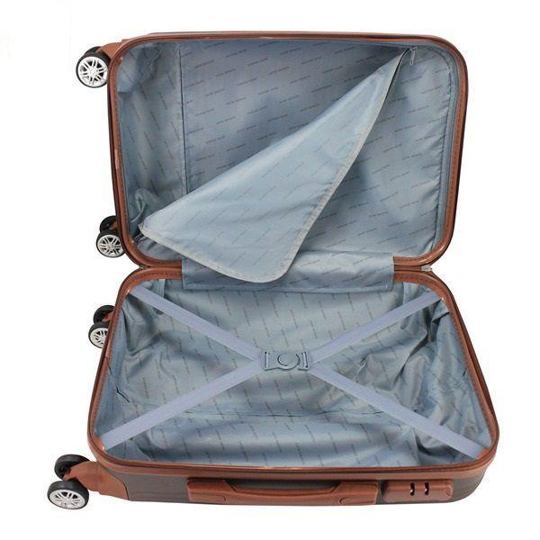 Mala de Viagem  de bordo 360º Premium Bronze ABS Jacki Design AMF19802