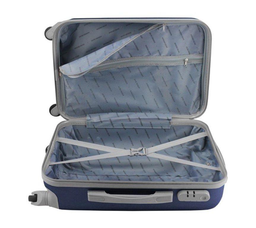 Mala de Viagem de bordo 360º Select Azul Marinho ABS Jacki Design AHZ19866