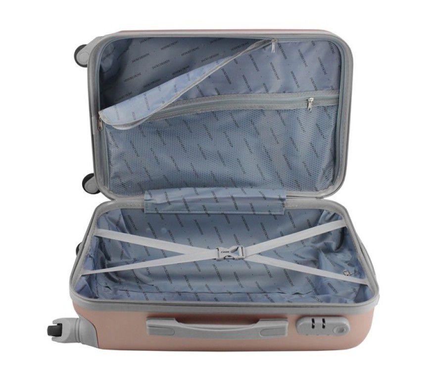 Mala de Viagem de bordo 360º Select Rose ABS Jacki Design AHZ19870