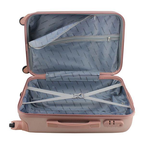 Mala de viagem Select Rose Gold de bordo medidas aprovada Jacki Design AHZ19863