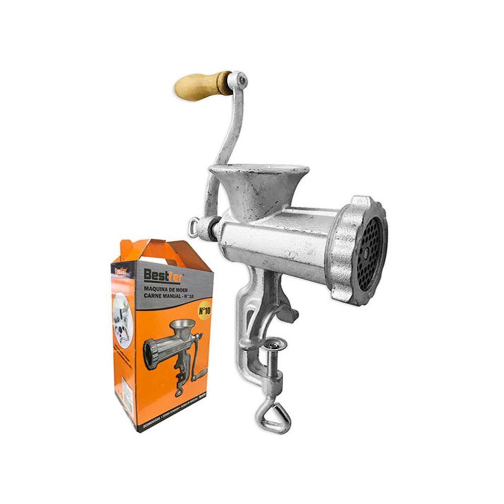 Maquina de Moer Carne Manual - N10 Bestfer Bfh1508