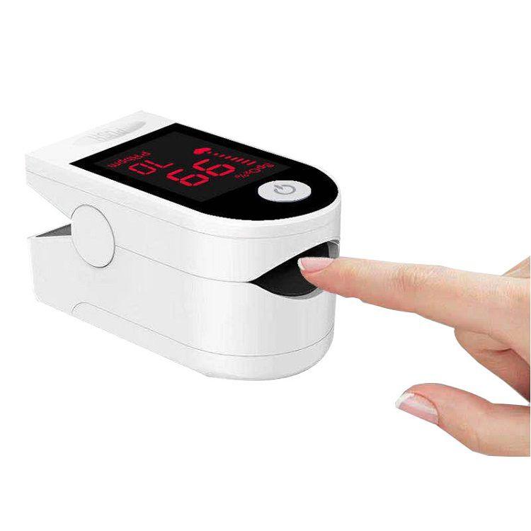 Oximetro Digital De Dedo Medidor De Saturação Pronta Entrega