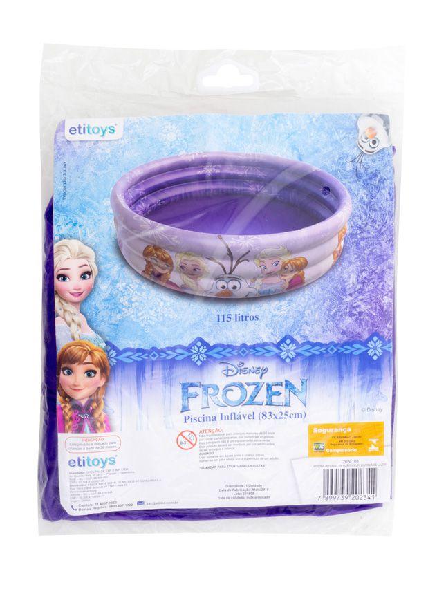 Piscina de Bolinhas da Frozen Infantil 115L + 100 Bolinhas