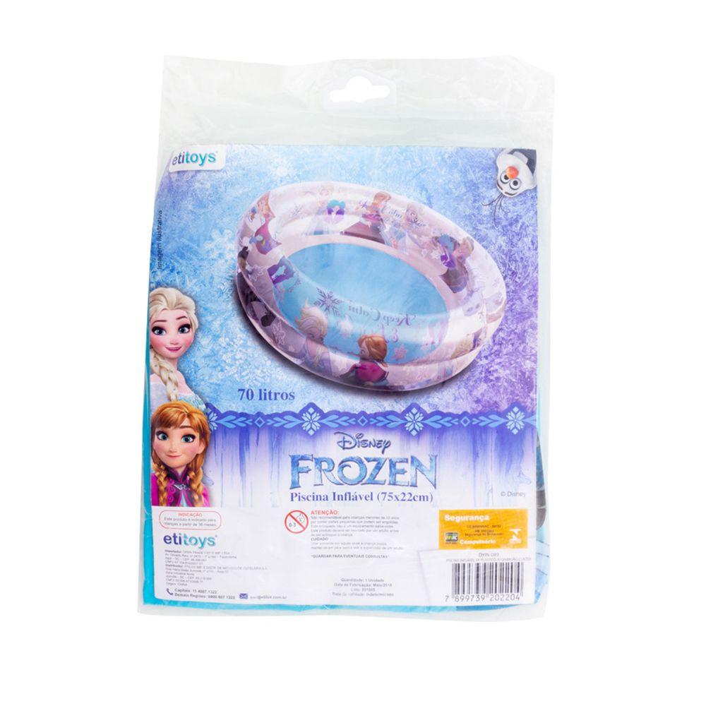 Piscina de Bolinhas da Frozen Infantil 70L + 100 Bolinhas