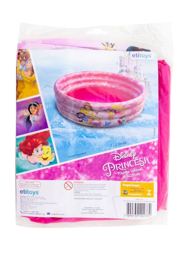 Piscina de Bolinhas das Princesas Disney Infantil 100L + 50 Bolinhas