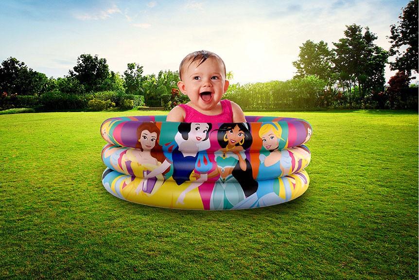 Piscina de Bolinhas das Princesas Disney Infantil 100L + 50 Bolinhas dyin-102_N