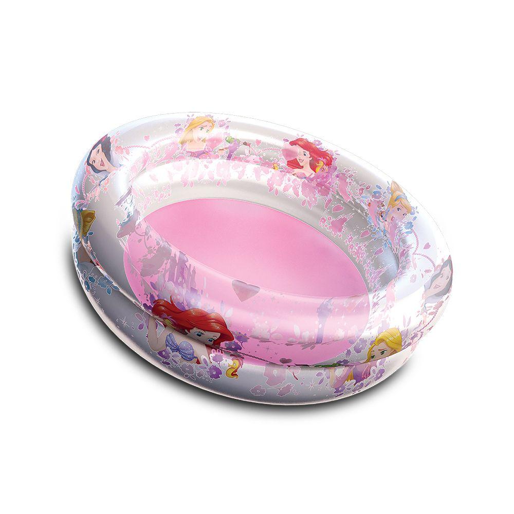 Piscina de Bolinhas das Princesas Disney Infantil 70L + 100 Bolinhas
