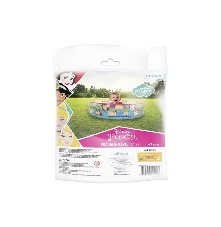 Piscina de Bolinhas das Princesas Disney Infantil 70L + 50 Bolinhas dyin-088_N