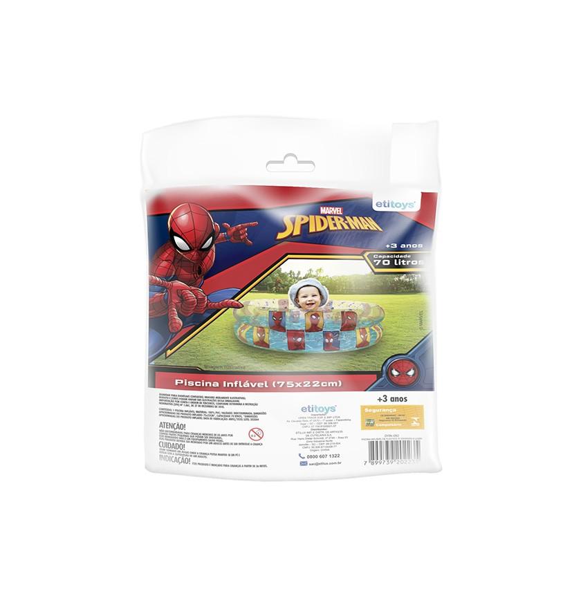 Piscina de Bolinhas do Spider-Man Infantil 70L + 50 Bolinhas dyin-092_N