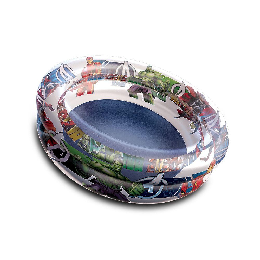 Piscina de Bolinhas dos Avengers Infantil 70L + 100 Bolinhas