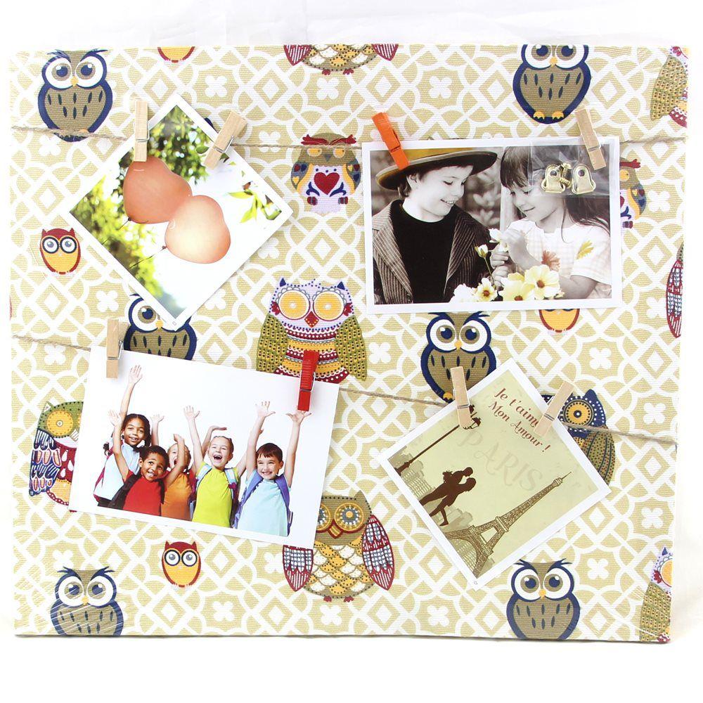 Porta Retrato Quadro Parede Paris 35x40 Varal 4 Fotos WX5414-