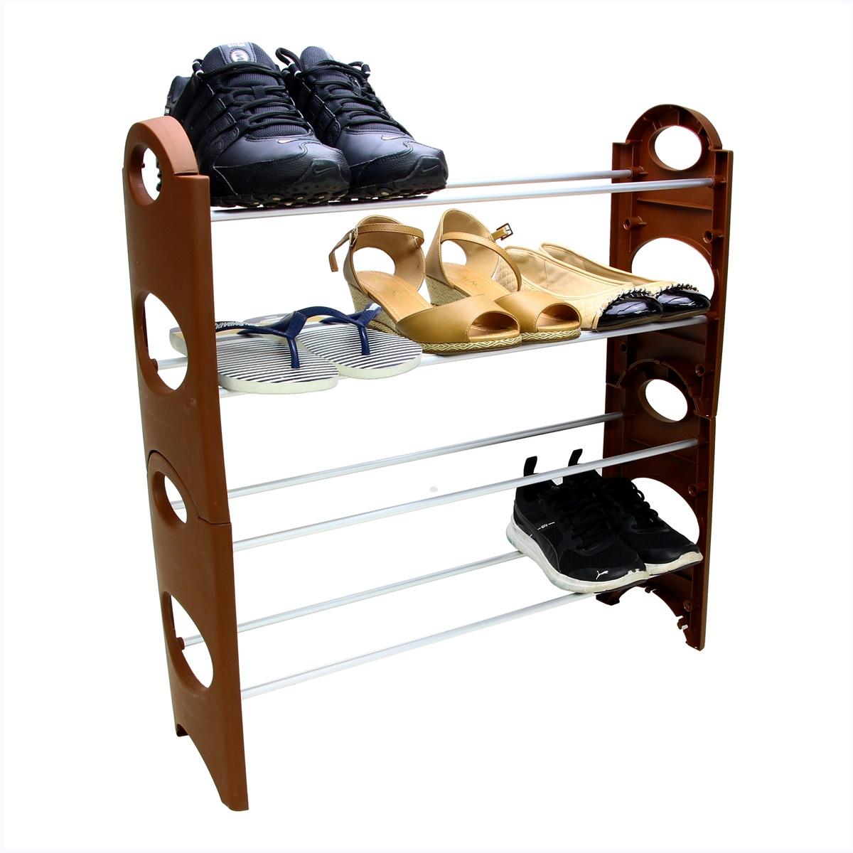 Sapateira Para Hall De Entrada Porta varias cores 24 Sapatos SAP-4A-12P-R
