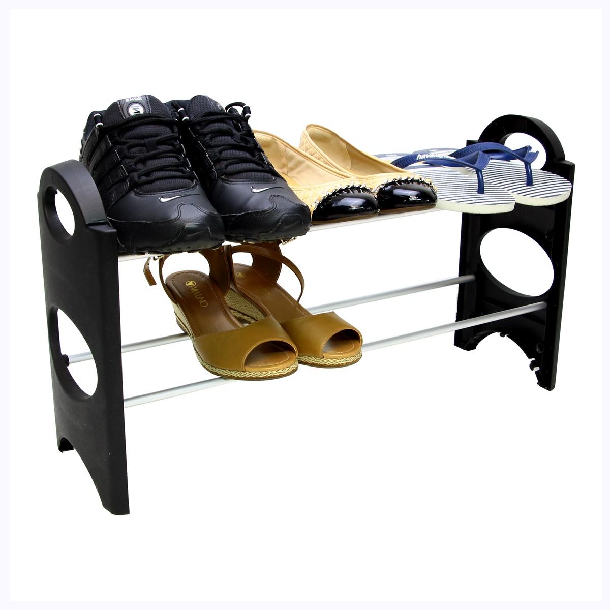 Sapateira Pequena Para Hall De Entrada Porta varias cores 12 Sapatos SAP-2A-6P-R